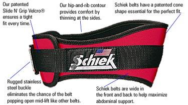 Schiek Lifting Belts 2006