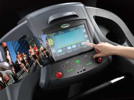 Green Series 6000-G1 Treadmill with AC Motor