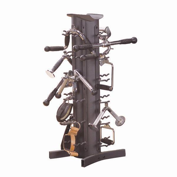 FitnessZone: Body Solid Plate Trees & Dumbbell Racks