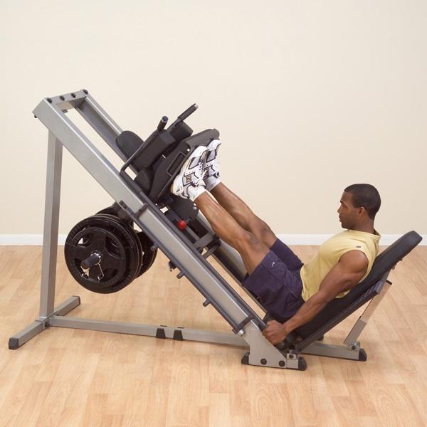 FitnessZone: Body-Solid Leg Press Hack Squat Machine GLPH1100