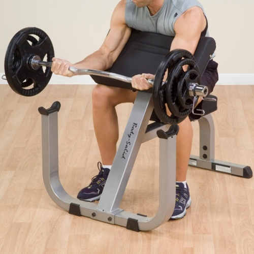 Body-Solid GPCB329 Preacher Curl Machine