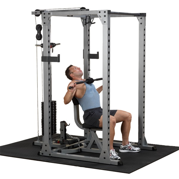 body solid gpr378 pro power rack fitnesszone. Black Bedroom Furniture Sets. Home Design Ideas