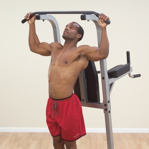 Body-Solid Vertical Knee Raise, Dip & Pull Up Station