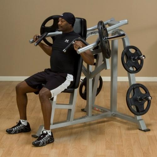 Body-Solid Leverage Shoulder Press LVSP