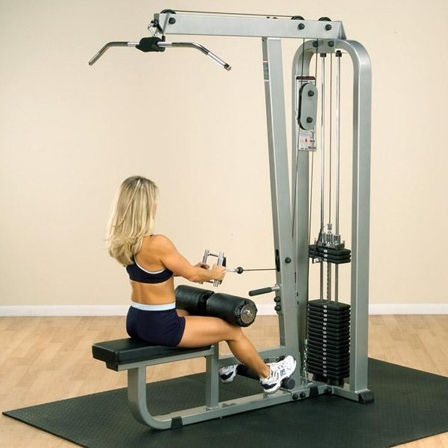 Body-Solid Pro Club-Line Lat Mid Row Machine SLM300G-2