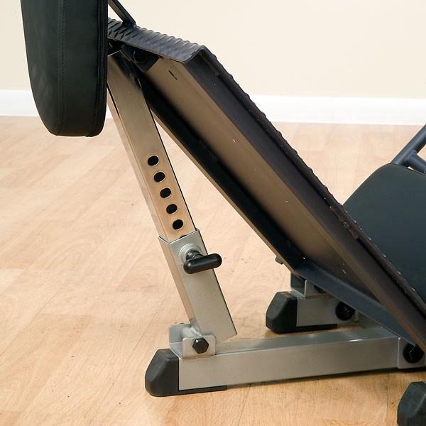 solid hack squat machine