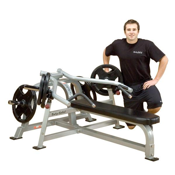 Body solid leverage bench press lvbp fitnesszone Leverage bench press