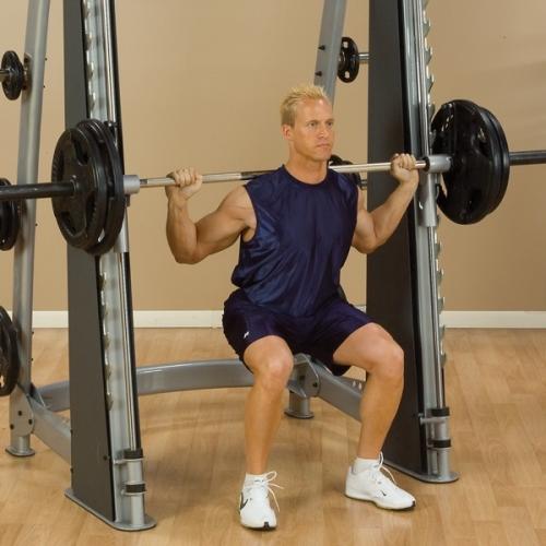Body-Solid Pro Club Line Counter Balanced Smith Machine
