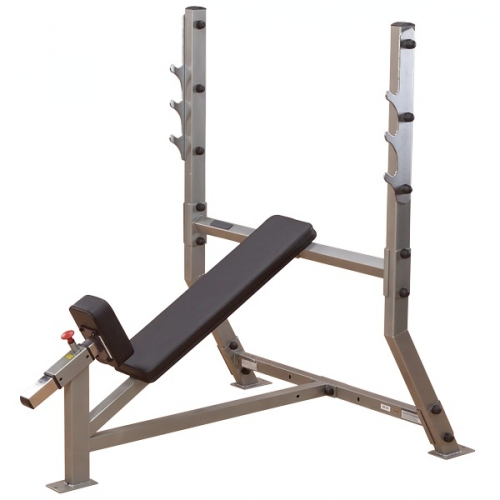Body-Solid Pro Clubline Incline Olympic Bench