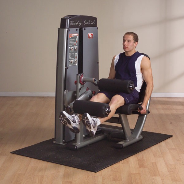 Life Fitness Treadmill User Not Detected: Body-Solid Pro Dual Leg Extension Leg Curl DLEC-SF