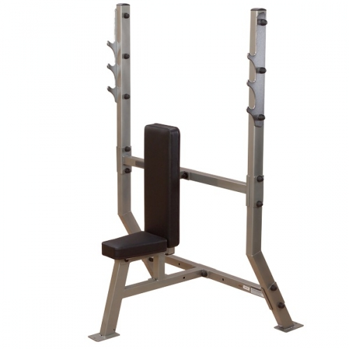 Body-Solid Pro Clubline Shoulder Press Olympic Bench SPB368G