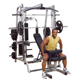 Fitnesszone Body Solid Series 7 Smith Machine Package System Gs348qp4