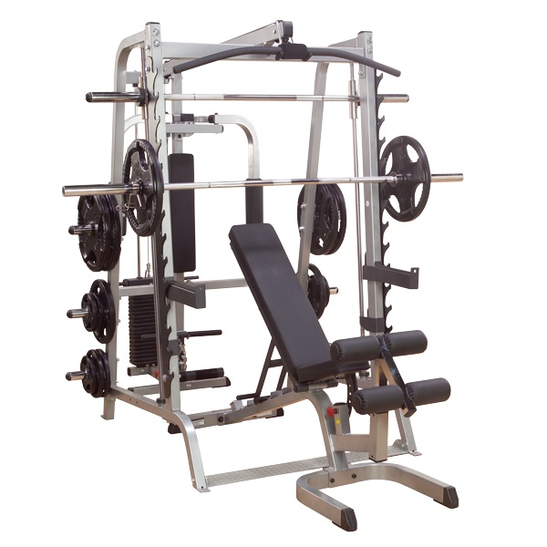 Fitnesszone body solid series smith machine package