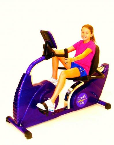 Cardio Kids Fit 660 Recumbent Bike Heart Rate Controlled