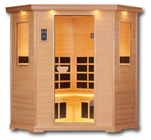 Clearlight Essential CE-C 3-4 Person Far Infrared Corner Sauna