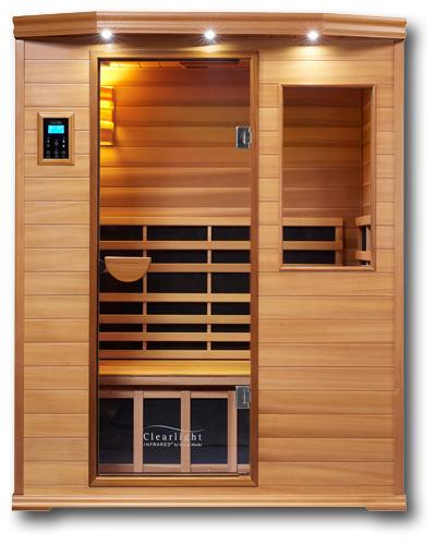 Clearlight IS-3 Three Person Infrared Premier Cedar Saunas