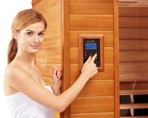 Clearlight IS-3 Three Person Infrared Premier Cedar Saunas