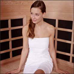 Clearlight IS-C 3-4 Person Infrared Premier Cedar Saunas