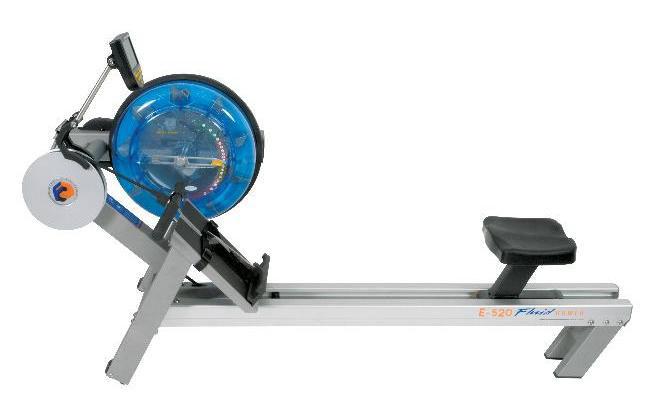 fluid rowing machine