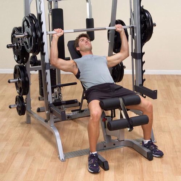 Body Solid Series 7 Smith Machine Package System Gs348qp4