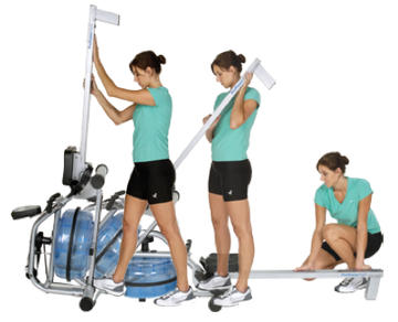 H20 Fitness RX-950 Club Series ProRower