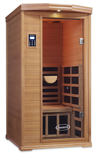 Clearlight IS-1 One Person Infrared Premier Cedar Saunas