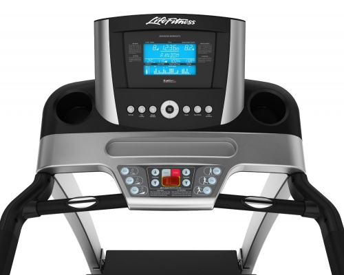 Life Fitness F3 Folding Treadmill with GO Console