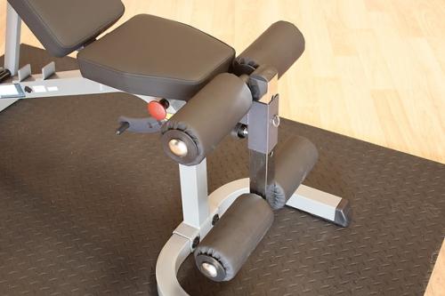 Body Solid Powerline Flat Incline Decline Fid Bench Gym