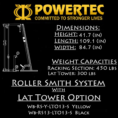 Powertec Roller Smith Machine WB-RS13