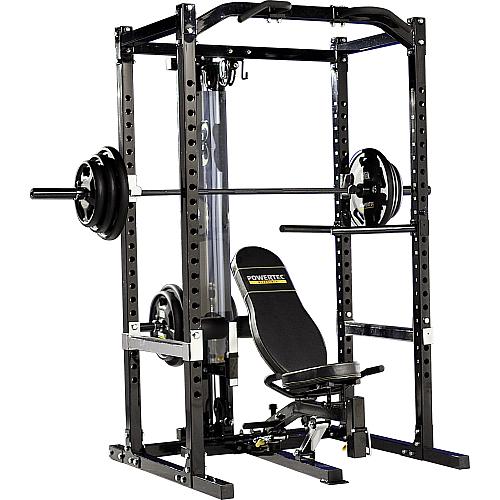 Astounding Fitnesszone Powertec Wb Pr Power Rack Andrewgaddart Wooden Chair Designs For Living Room Andrewgaddartcom