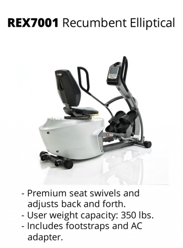 SciFit Rex 70001 Total Body Recumbent Elliptical