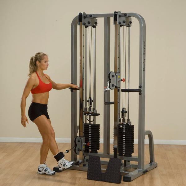 Body Solid Pro Clubline Dual Cable Column Sdc2000g 1