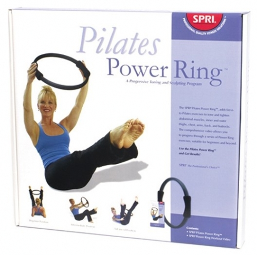 SPRI Pilates Power Ring and Video