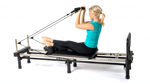 Stamina AeroPilates Premier 695 Studio with Cardio Rebounder & Two DVDs