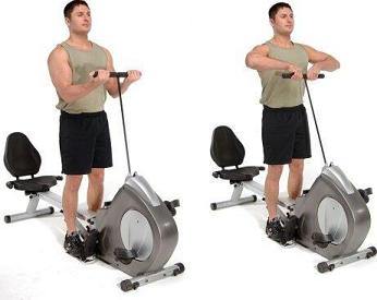 Stamina Deluxe Conversion II Recumbent Rower