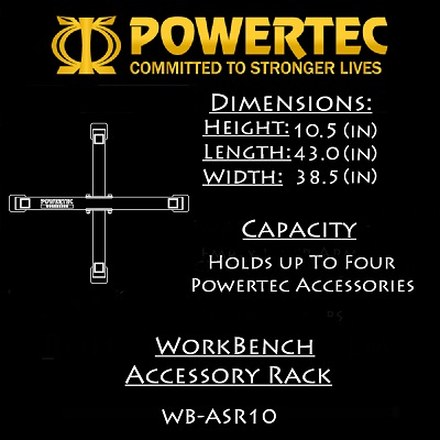 Powertec Accessory Rack WB-ASR10