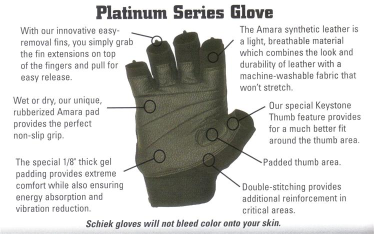 Image result for Platinum Model 520 - Women's Lifting Gloves