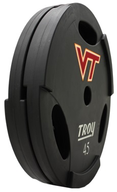 Troy 12 Sided Urethane Dumbbell Set 5-50lbs TSD-005-050U