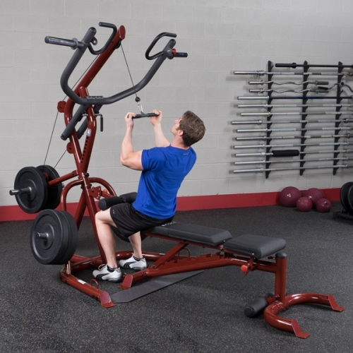 Body Solid Corner Leverage Gym Package GLGS100P4