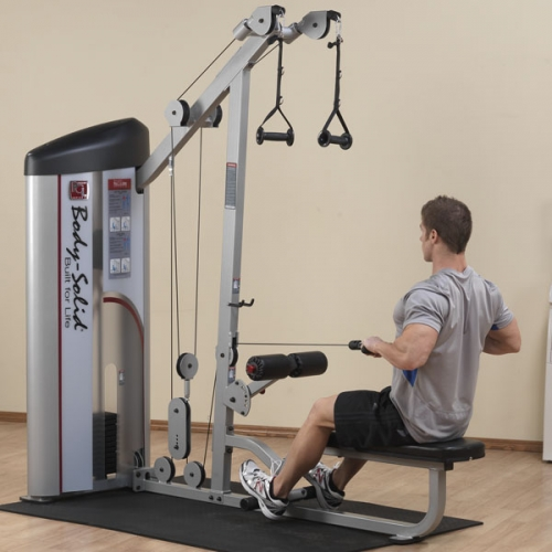 Body-Solid Pro Clubline Series II Lat/Pull S2LAT-1 w/160lb Weight Stack