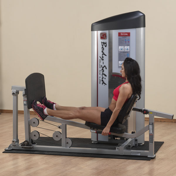 Body-Solid Pro Clubline Series II Leg Press/Calf Raise S2LPC-2
