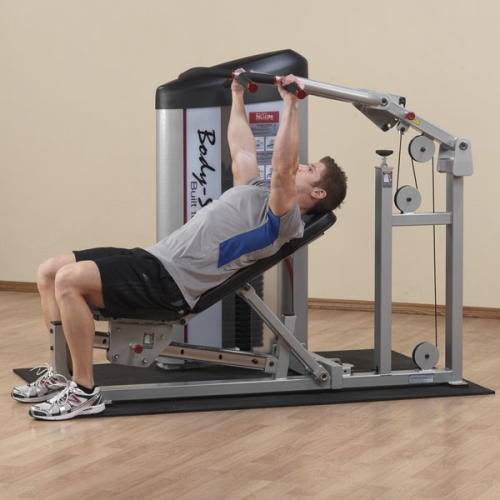 Body-Solid Pro Clubline Series II Multi-Press S2MP-2 w/210lb Weight Stack