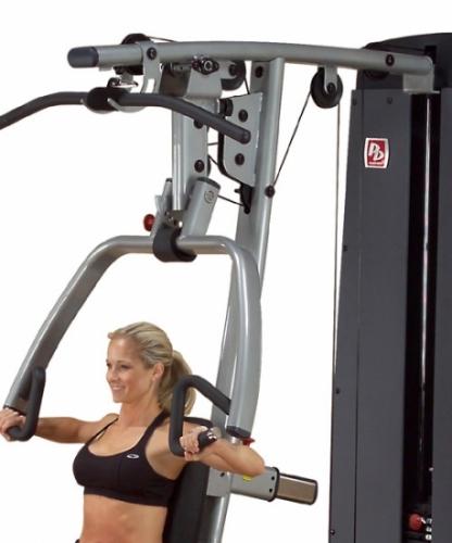 Body-Solid Pro Dual Vertical Press & Lat DPLS-SF