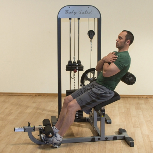 Body-Solid Pro Select Ab and Back GCAB-STK