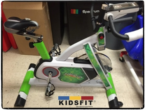 Cardio Kids Indoor Cycle Bike 658 Elem