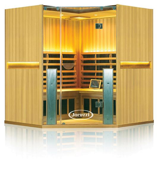 Clearlight Sanctuary C 4 Person Corner Cedar Sauna