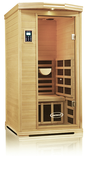 Fitnesszone Clearlight Is 1 One Person Infrared Premier Cedar Saunas