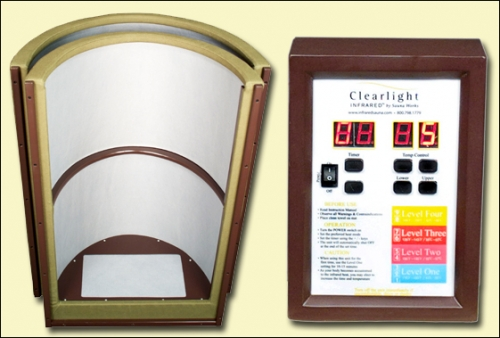 Clearlight Infrared Curve Sauna Dome