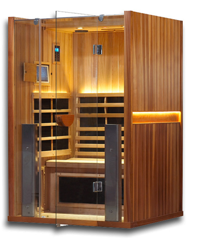 Clearlight Sanctuary 2: 2 Person Cedar Infrared Sauna