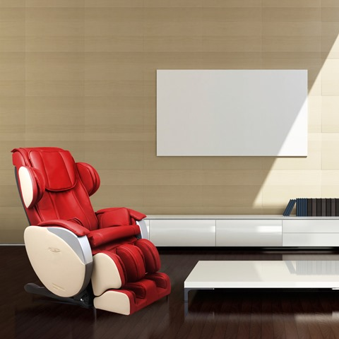 Dynamic Luxury Massage Chair Santa Monica-Red